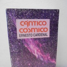 Libros de segunda mano: CANTICO COSMICO. ERNESTO CARDENAL. EDITORIAL NUEVA NICARAGUA. 1989. PRIMERA EDICION. Lote 272515983