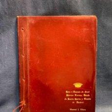 Libros de segunda mano: BRIO EMPUJE JOSE MORENO TORRES CONDE STA MARTA ALCALDE MADRID MANUEL J.YLLERA ROMANCE DIBUJOS 28X22C. Lote 273117528