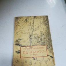 Libros de segunda mano: EL AMIGO. POESÍA. MIGUEL MARTÍNEZ DEL CERRO. 1959. CADIZ. RÚSTICA. Lote 273606428
