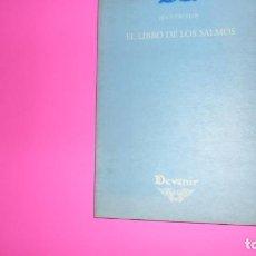 Libros de segunda mano: EL LIBRO DE LOS SALMOS, JESÚS URCELOY, ED. JUAN PASTOR, TAPA BLANDA. Lote 273965583