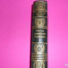 Libros de segunda mano: POETAS DRAMÁTICOS ESPAÑOLES, TOMO I, ED. ÉXITO, EN HOLANDESA. Lote 273966303