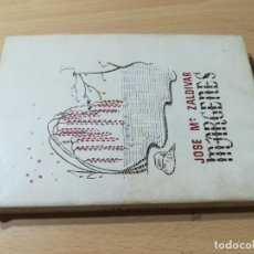 Libros de segunda mano: MARGENES, POEMAS / JOSE Mª ZALDIVAR / MADRID 1947 / Q206. Lote 275113618