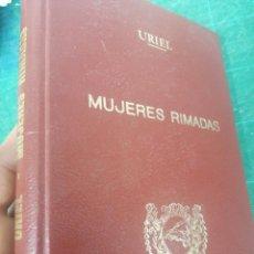 Libros de segunda mano: PRUDENCIA GIMÉNEZ URIEL. MUJERES RIMADAS. Lote 275535988