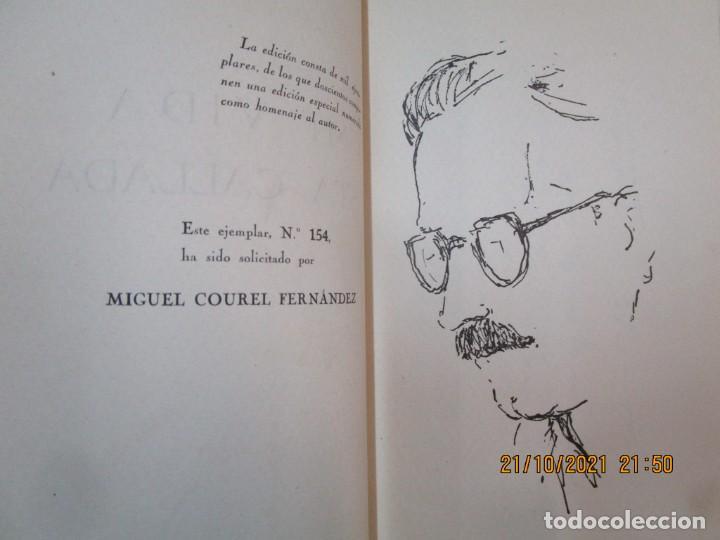 Libros de segunda mano: GALICIA POESIA - MI VIDA ESTÁ CALLADA POEMAS - ALFONSO ALCARAZ - ORENSE 1962 IMP HODIRE +INFO - Foto 4 - 276734373