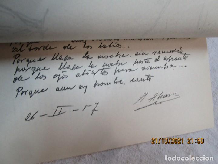 Libros de segunda mano: GALICIA POESIA - MI VIDA ESTÁ CALLADA POEMAS - ALFONSO ALCARAZ - ORENSE 1962 IMP HODIRE +INFO - Foto 5 - 276734373
