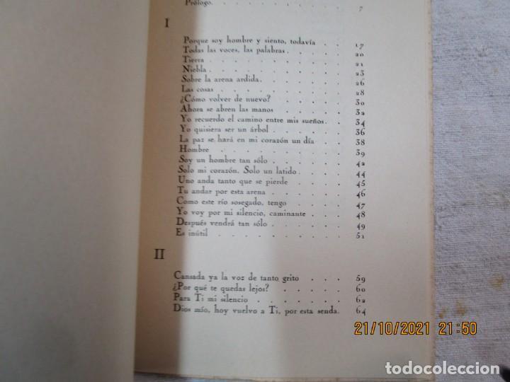 Libros de segunda mano: GALICIA POESIA - MI VIDA ESTÁ CALLADA POEMAS - ALFONSO ALCARAZ - ORENSE 1962 IMP HODIRE +INFO - Foto 7 - 276734373