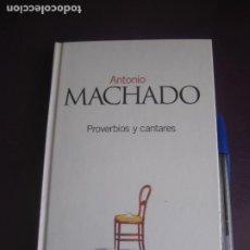 Libros de segunda mano: PROVERBIOS Y CANTARES - ANTONIO MACHADO - EL PAIS 2003 - TAPA DURA - 189 PAGS - SIN USO. Lote 277074113
