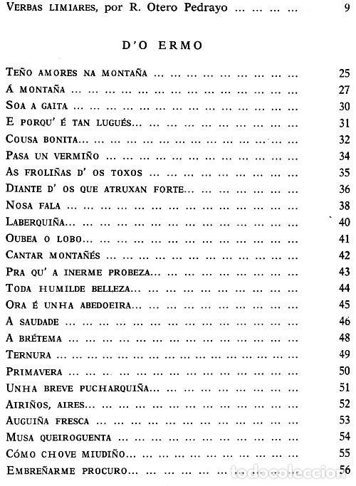 Libros de segunda mano: ANTONIO NORIEGA VARELA. DO ERMO. ESCOLMA. REAL ACADEMIA GALLEGA. CORUÑA 1969. GALICIA. - Foto 4 - 277117043
