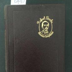 Libros de segunda mano: POESIAS COMPLETAS, RAFAEL POMBO, AGUILAR, 1957, PRIMERA EDICION. Lote 277225628