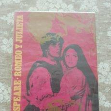 Libros de segunda mano: SHAKESPEARE.ROMEO Y JULIETA. Lote 277229513