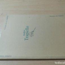 Libros de segunda mano: POESIA EN EL CAMPUS 37 1996/97 / ANDRES TRAPIELLO / UNIVERSIDAD ZARAGOZA / AL62. Lote 277645288