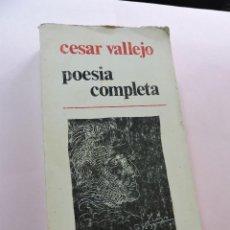 Libros de segunda mano: POESÍA COMPLETA. VALLEJO, CÉSAR. LA NAVE DE LOS LOCOS MÉXICO 1978. Lote 277677983