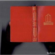 Libros de segunda mano: ANTONIO MACHADO POESIAS ESCOGIDAS EDICIONES AGUILAR S.A.PRIMERA REIMPRESION 1969. Lote 278435783