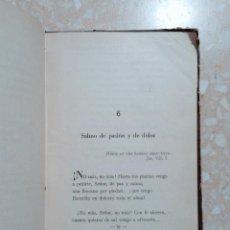 Libros de segunda mano: POESÍA SACRA. SELECCIÓN. JOSÉ MARÍA PEMÁN, 1940. Lote 278486748