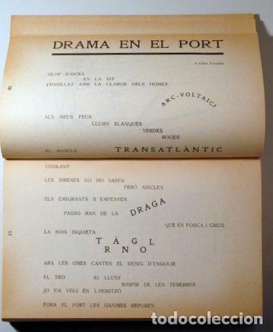 Libros de segunda mano: SALVAT PAPASSEIT, Joan - POESIA COMPLETA. Edició facsímil - Barcelona. 1975 - 1ª edició - Foto 3 - 282876828