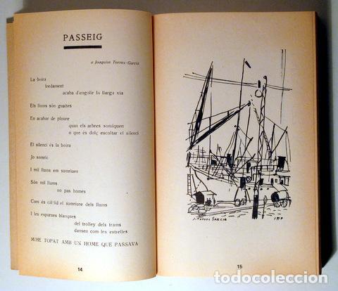 Libros de segunda mano: SALVAT PAPASSEIT, Joan - POESIA COMPLETA. Edició facsímil - Barcelona. 1975 - 1ª edició - Foto 4 - 282876828
