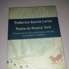 Libros de segunda mano: POETA EN NUEVA YORK. FEDERICO GARCÍA LORCA. Lote 284809363