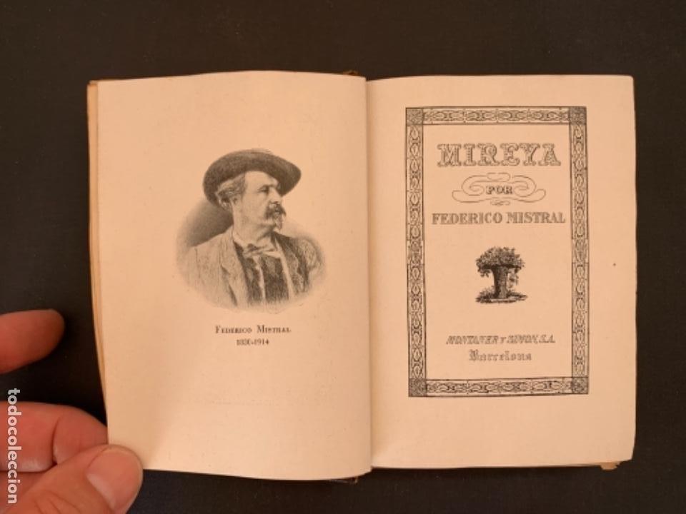 Libros de segunda mano: MIREYA DE FEDERICO MISTRAL 1941 - Foto 4 - 285763983