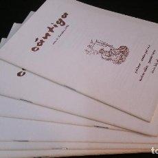 Libros de segunda mano: 1982 - CÁNTIGA. NÚMEROS 4 A 11 - REVISTA DE POESÍA. Lote 286842313