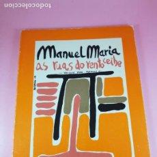 Libros de segunda mano: LIBRO-AS RUAS DO VENTO CEIBE-MANUEL MARÍA-VERSOS PARA NENOSGALIZA EDITORA-3ªEDICIÓN 1988. Lote 287106358