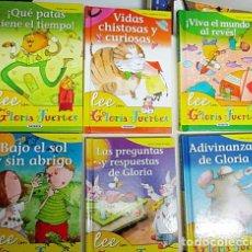 Libros de segunda mano: FUERTES, GLORIA. - LEE CON GLORIA FUERTES 6 VOLS.. Lote 287589473