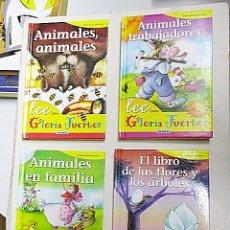 Libros de segunda mano: FUERTES, GLORIA. - LEE CON GLORIA FUERTES 4 VOLS.. Lote 287589503