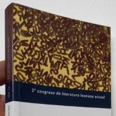 Libros de segunda mano: DIEZ NUEVAS VOCES DE LA POESÍA LEONESA - VV.AA.. Lote 287916113