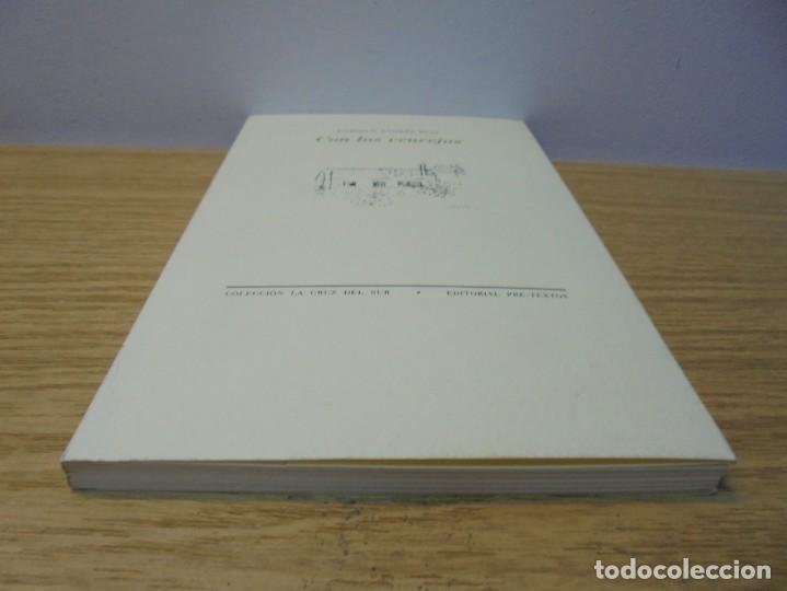 Libros de segunda mano: ENRIQUE ANDRES RUIZ. CON LOS VENCEJOS. DEDICADO POR AUTOR. EDITORIAL PRE-TEXTOS. 2004 - Foto 3 - 288065383