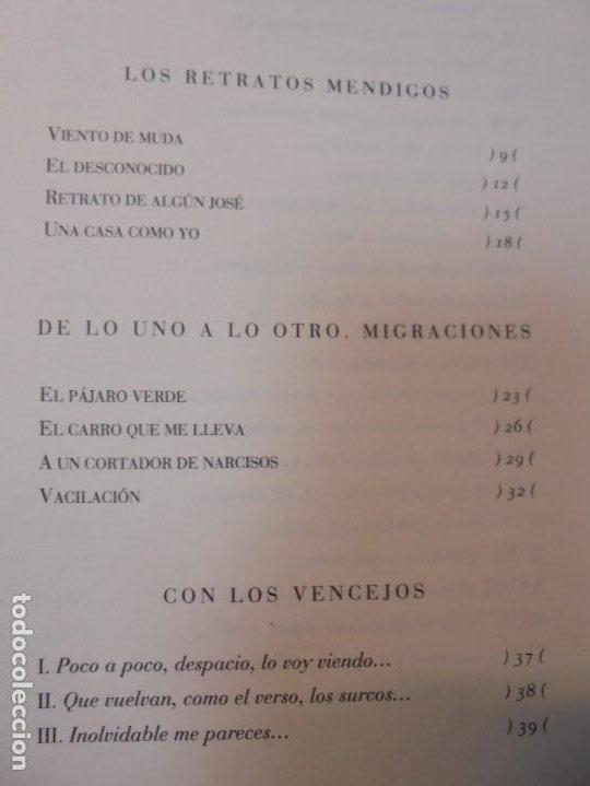 Libros de segunda mano: ENRIQUE ANDRES RUIZ. CON LOS VENCEJOS. DEDICADO POR AUTOR. EDITORIAL PRE-TEXTOS. 2004 - Foto 12 - 288065383