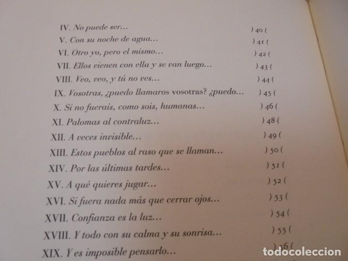 Libros de segunda mano: ENRIQUE ANDRES RUIZ. CON LOS VENCEJOS. DEDICADO POR AUTOR. EDITORIAL PRE-TEXTOS. 2004 - Foto 13 - 288065383