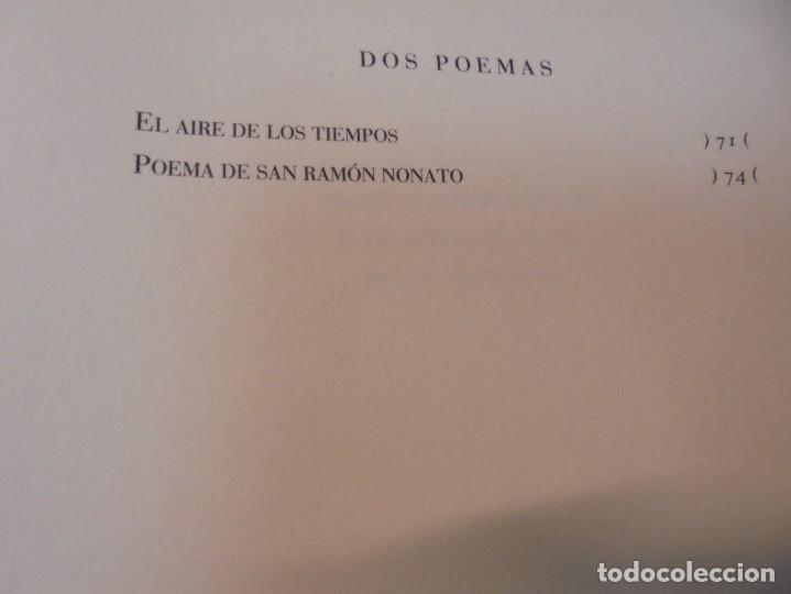 Libros de segunda mano: ENRIQUE ANDRES RUIZ. CON LOS VENCEJOS. DEDICADO POR AUTOR. EDITORIAL PRE-TEXTOS. 2004 - Foto 15 - 288065383