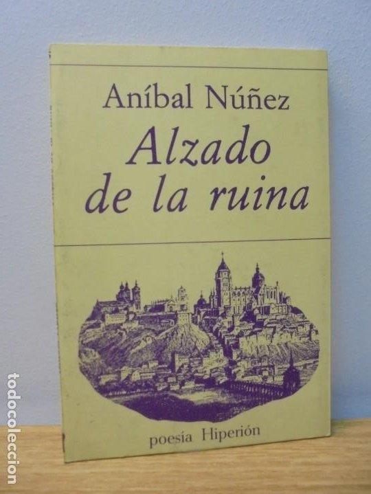 ALZADO DE LA RUINA. ANIBAL NUÑEZ. EDITORIAL HIPERION. 1983. 1º EDICION. (Libros de Segunda Mano (posteriores a 1936) - Literatura - Poesía)