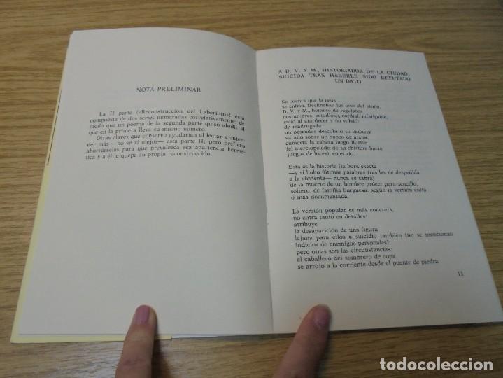 Libros de segunda mano: ALZADO DE LA RUINA. ANIBAL NUÑEZ. EDITORIAL HIPERION. 1983. 1º EDICION. - Foto 6 - 288066623