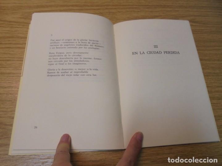 Libros de segunda mano: ALZADO DE LA RUINA. ANIBAL NUÑEZ. EDITORIAL HIPERION. 1983. 1º EDICION. - Foto 8 - 288066623