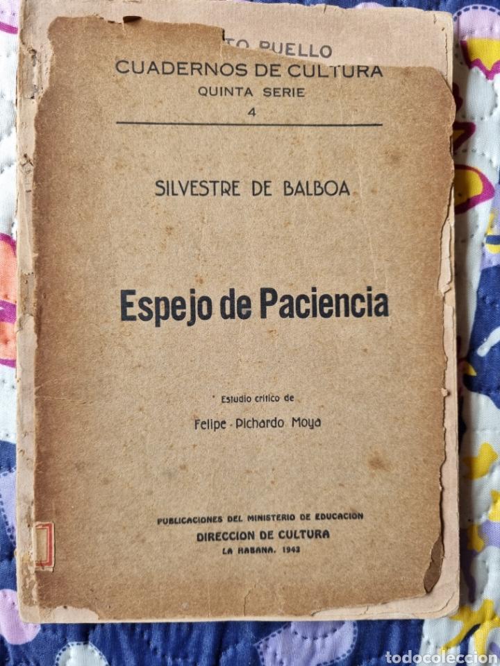 Libros de segunda mano: Espejo de Paciencia. Cuba 1942. - Foto 5 - 288149893