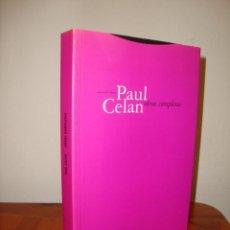 Libros de segunda mano: OBRAS COMPLETAS - PAUL CELAN - EDICIONES TROTTA, MUY BUEN ESTADO. Lote 289528823