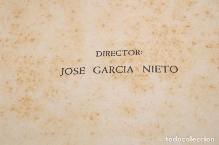 Libros de segunda mano: ACANTO MADRID 1947 REVISTA LITERARIA COLECCION COMPLETA 16 NUMEROS + INDICES DIR. JOSE GARCIA NIETO - Foto 3 - 289595983