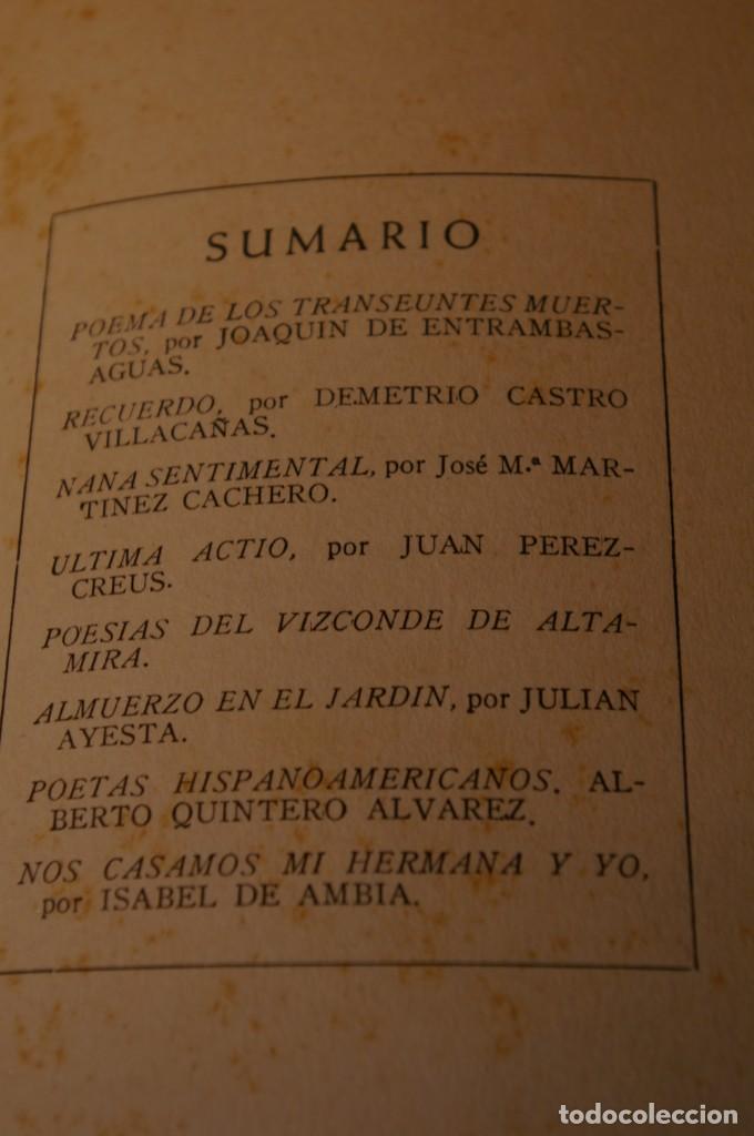 Libros de segunda mano: ACANTO MADRID 1947 REVISTA LITERARIA COLECCION COMPLETA 16 NUMEROS + INDICES DIR. JOSE GARCIA NIETO - Foto 5 - 289595983