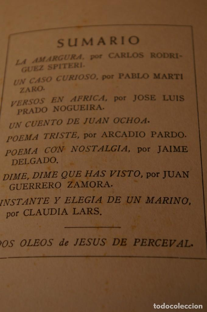 Libros de segunda mano: ACANTO MADRID 1947 REVISTA LITERARIA COLECCION COMPLETA 16 NUMEROS + INDICES DIR. JOSE GARCIA NIETO - Foto 10 - 289595983