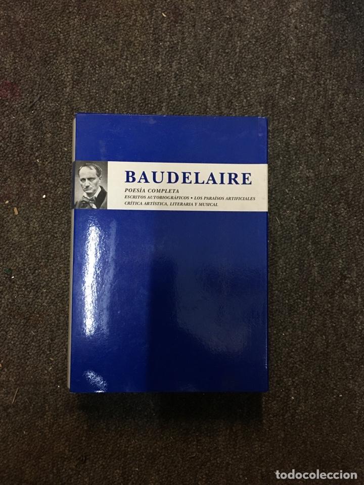 POESIA COMPLETA - BAUDELAIRE - ESPASA (2000) (Libros de Segunda Mano (posteriores a 1936) - Literatura - Poesía)