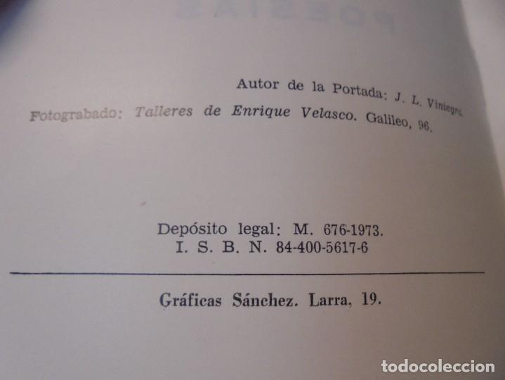 Libros de segunda mano: BUSCANDO EL INFINITO. JOSE MANUEL KROHN. DEDICADO POR AUTOR. POESIAS.1973. - Foto 6 - 289606528
