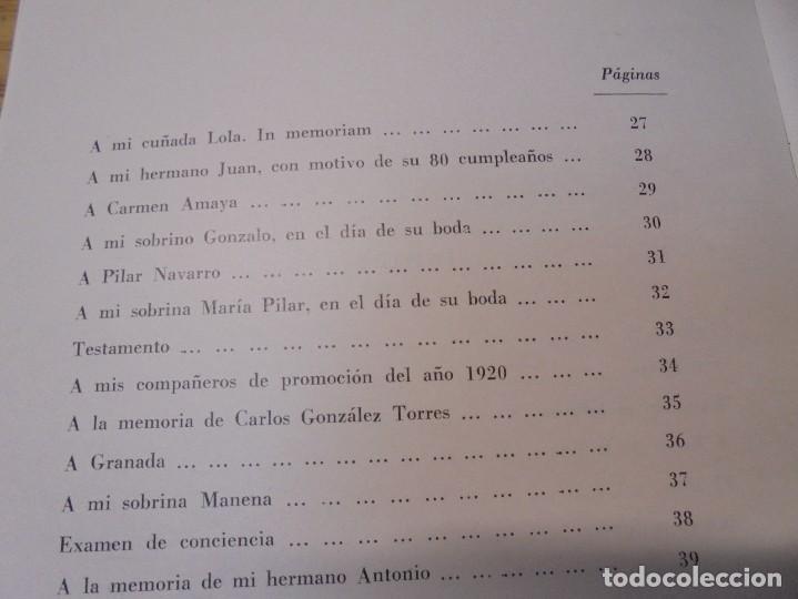 Libros de segunda mano: BUSCANDO EL INFINITO. JOSE MANUEL KROHN. DEDICADO POR AUTOR. POESIAS.1973. - Foto 13 - 289606528