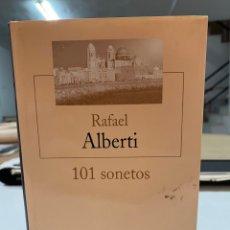 Libros de segunda mano: 101 SONETOS POR RAFAEL ALBERTI. Lote 294378328