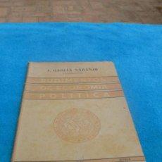 Libros de segunda mano: RUDIMENTOS DE ECONOMÍA POLÍTICA 1947 / J. GARCÍA NARANJO. Lote 26848246