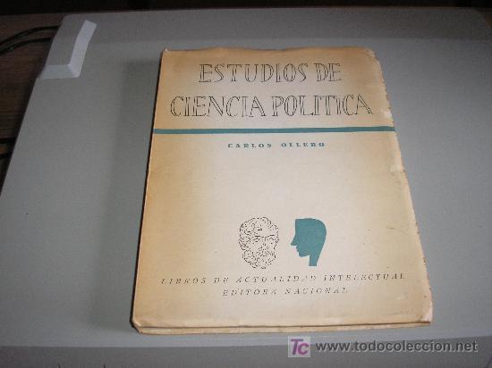 ESTUDIOS DE CIENCIA POLITICA (CARLOS OLLERO) (Libros de Segunda Mano - Pensamiento - Política)