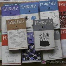 Libros de segunda mano: PANORAMAS. PUBLICACIÓN BIMESTRAL. NÚMERO 1 (ENERO-FEBRERO 1963) A NÚMERO 18 (NOVIEMBRE-DICIEMBRE 196. Lote 18400818