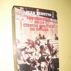 Libros de segunda mano - 1976 ORIGENES DE LA CIENCIA POLITICA EN ESPAÑA JUAN BENEYTO ESTADO NUEVO - 26929489
