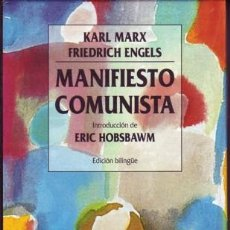 Libros de segunda mano - MARX, Karl y Friedrich ENGELS. Manifiesto comunista. - 26811648