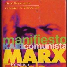 Libros de segunda mano - Manifiesto comunista. MARX, KARL. ENGELS, FRIEDRICH. - 23729799
