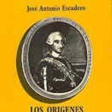 Libros de segunda mano: LOS ORIGENES DEL CONSEJO DE MINISTROS EN ESPAÑA I Y II. JOSE ANTONIO ESCUDERO.. Lote 27568161